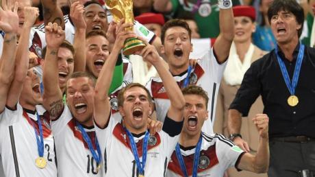 Vor fünf Jahren wurde Deutschland bei der WM in Brasilien Weltmeister.