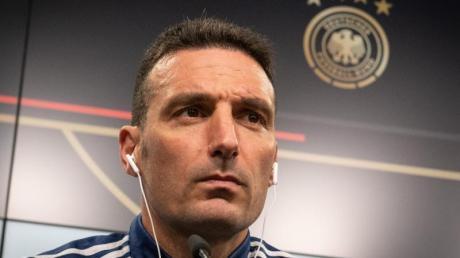 Mit Argentinien gegen die DFB-Elf gefordert: Trainer Lionel Scaloni.
