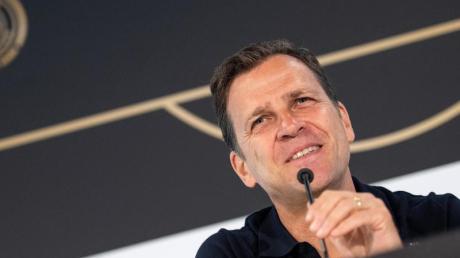 Sieht einen entspannten Bundestrainer Löw: DFB-Direktor Oliver Bierhoff.