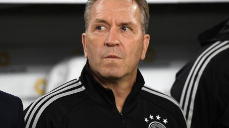 Deutschlands Torwarttrainer Andreas Köpke. Foto: Swen Pförtner/dpa/Archivbild
