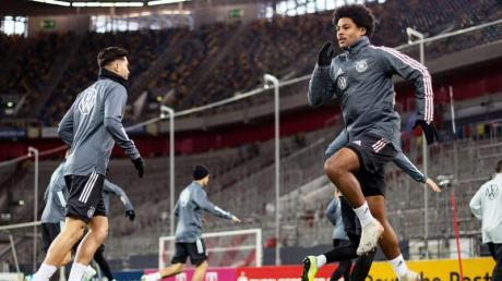 Die deutsche Fußball-Nationalmannschaft kann schon am Samstag in Mönchengladbach gegen Weißrussland die EM-Teilnahme klar machen. Foto: Marius Becker/dpa