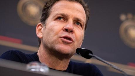 DFB-Direktor Oliver Bierhoff hat sich zurückhaltend zu den Olympia-Ideen von Thomas Müller geäußert.