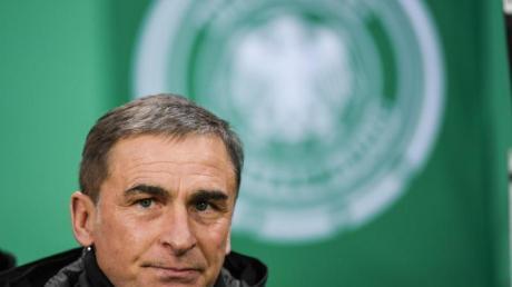 U21-Nationaltrainer Stefan Kuntz legte der Nada eine 50er-Liste vor.