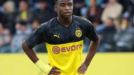 BVB-Youngster Youssoufa Moukoko steht im Aufgebot der deutschen U19-Nationalmannschaft.