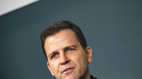 Oliver Bierhoff plädiert dafür, die Nations League als Mini-Turnier auszutragen.
