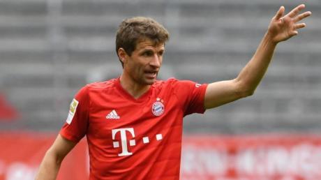 Trotz zuletzt starker Leistungen kein Kandidat mehr für das Nationalteam: Thomas Müller.