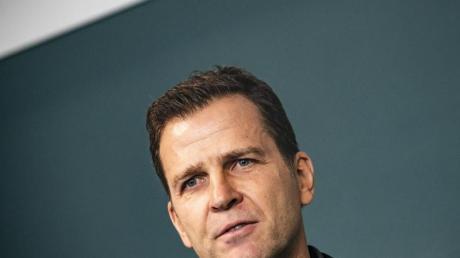 DFB-Direktor Oliver Bierhoff hofft auf Länderspiele mit Fans.