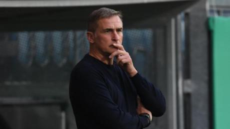 Will bei der Auslosung der Olympia-Gruppen nicht vom «typisch deutschen Losglück» sprechen: Auswahl-Trainer Stefan Kuntz.