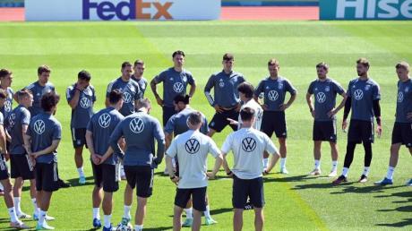 Zwei Tage vor dem Spiel gegen Portugal konnte das DFB-Team nicht in voller Mannstärke trainieren.