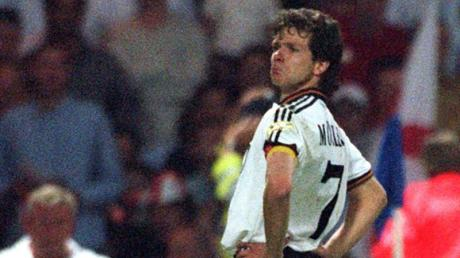 Bezwang 1996 mit dem DFB-Team England nach Elfmeterschießen in Wembley: Andreas Möller.