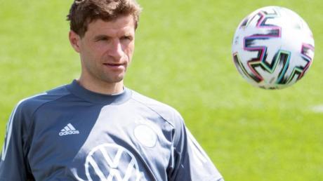 Die Zukunft von Thomas Müller im DFB-Team ist noch offen.