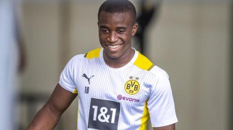 Youssoufa Moukoko ist nach seinem Einsatz im EM-Qualifikationsspiel gegenSan Marino jüngster deutscher U21-Nationalspieler.