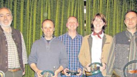 Der neue Vorstand (von links): Thomas Uhl, Frank Riggenmann, Wolfgang Metz, Katrin Geiger und Franz Walz.