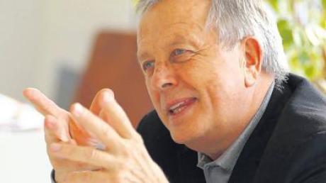 Eher Schlichter als Streiter: Professor Horst Diener ist ein prominenter Vertreter der alten HfG-Garde.