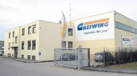 Ein Logistik-Standort vor der Auflösung: Greiwing in der Hans-Lorenser-Straße zieht um nach Leipheim.