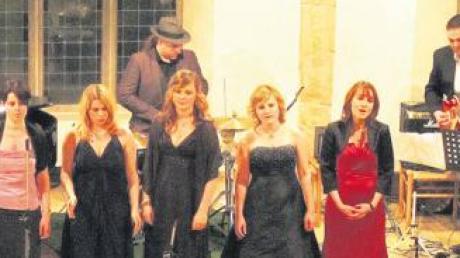 Fünf Stimmen, die gefallen: Das Quintett Cantati beim ersten Frühjahrskonzert im Haus der Begegnung.