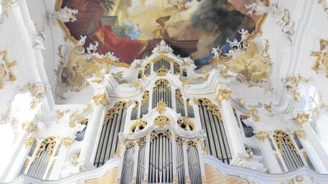 """Der """"Star"""" des Roggenburger Sommers ist ein Instrument: Die """"große Roggenburgerin"""" in der Klosterkirche wird 250 Jahre alt."""