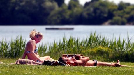 Wie wär es mit einem Ausflug an den Ludwigsfelder Badesee?