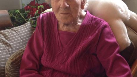 Maria Cäcilia Gadenne aus Leibi ist die älteste Landkreisbürgerin. An Silvester wurde sie 107 Jahre alt.