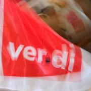 Die Gewerkschaft Verdi hat einen Warnstreik für den heutigen Dienstag angekündigt - auch in Augsburg.
