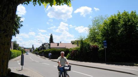 Die Lange Straße in Wullenstetten wird ab Ostermontag teilweise gesperrt.