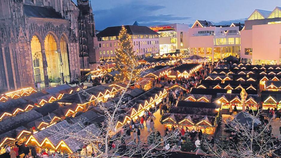 Ulm Weihnachtsmarkt.Ulm Wild Und Whisky Auf Dem Weihnachtsmarkt Nachrichten Neu Ulm