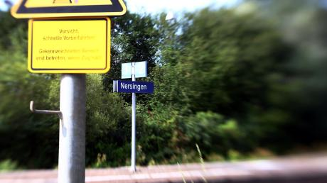 Am Nersinger Bahnhof soll sich etwas tun.