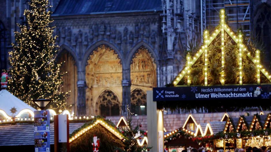 Ulm Weihnachtsmarkt.Ulm Ulmer Weihnachtsmarkt Die Mischung Macht S Nachrichten Neu
