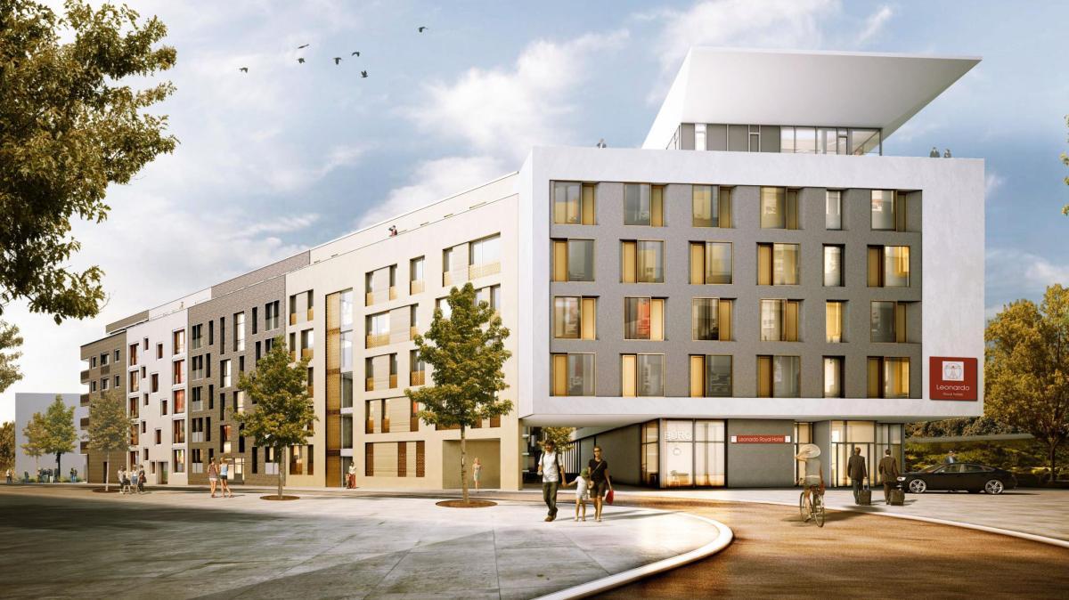 ulm so sieht ulms neues sterne hotel aus nachrichten neu ulm augsburger allgemeine. Black Bedroom Furniture Sets. Home Design Ideas