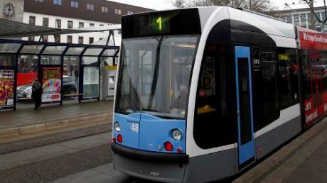 Auf der Linie 1 verkehren in den Herbstferien Busse statt Straßenbahnen.