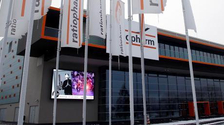 Steht auch nach fünf Jahren noch gut da: die Ratiopharm-Arena am Neu-Ulmer Muthenhölzle. Zu ihrem Jubiläum gibt es Comedy, Konzerte und natürlich Basketball.