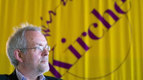 """Christian Weisner ist mit der Kirchen-Reformgruppe """"Wir sind Kirche"""" zu Gast in Ulm."""