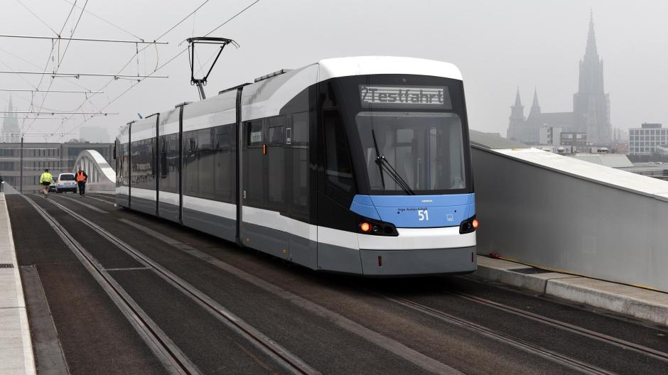 Ulm Straßenbahn In Ulm Die Linie 2 Ist Vollendet Nachrichten Neu