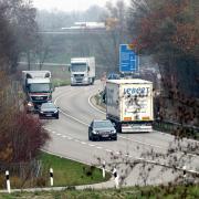 In Neu-Ulm wird die B10 zwischen Neu-Ulm und Nersingen vier Tage lang gesperrt.