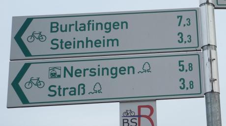 Der in Remmeltshofen angezeigte Radweg nach Steinheim scheitert bislang am Grunderwerb.