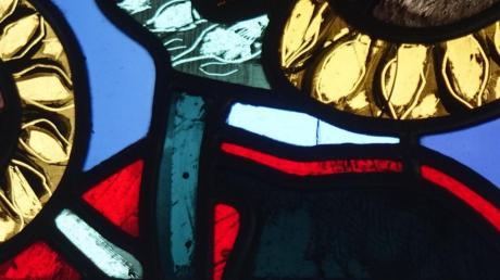 Für solche Bleiglasfenster ist Wilhelm Geyer bekannt.
