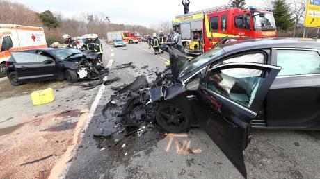Zwischen Neu-Ulm und Wiblingen passierte ein schwerer Unfall.