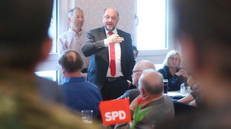 Martin Schulz sieht Europa von innen und außen bedroht.