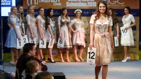 Vanessa Fülle aus Gerlenhofen ist Miss Schwaben 2019.
