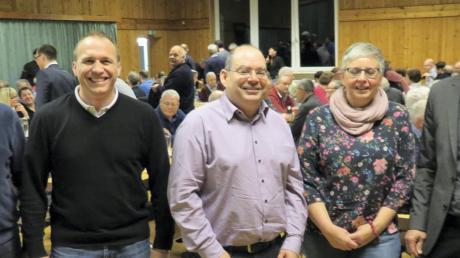 Das Führungsteam des KSV: Thomas Steck (Kassier), Franz Mayer (Wirtschaft und Finanzen), Martin Decker (zweiter Vorsitzender), Dagmar Schorn (Geschäftsführerin und Jugendleiterin) und Franz Beer (erster Vorsitzender).