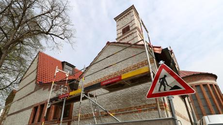 Noch bis Ende des Jahres ist die Kirche St. Johann Baptist in der Neu-Ulmer Innenstadt geschlossen, weil im Inneren Bauarbeiten stattfinden.