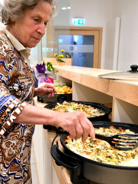 kochen für 20 gäste