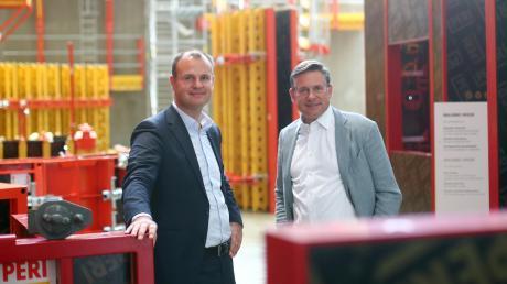 Sie sind von  1. Juli an gemeinsam im Beirat von Peri tätig: Christian Schwörer (links) und sein Bruder Alexander.