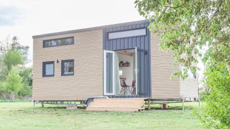Ähnlich wie das Modell auf diesem Bild sollte das Tiny House aussehen, dass Christina Strahl und Michael Putze auf einem Grundstück in Attenhofen aufstellen wollten.