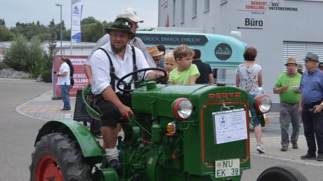 Auch alte Landmaschinen gab es zu bestaunen.