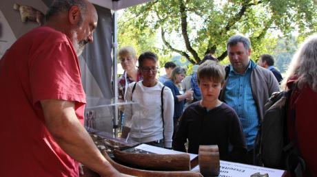 Wissenswertes aus Alltag und Kunst der Eiszeit gibt es beim Urmu-Aktionstagzu erfahren.