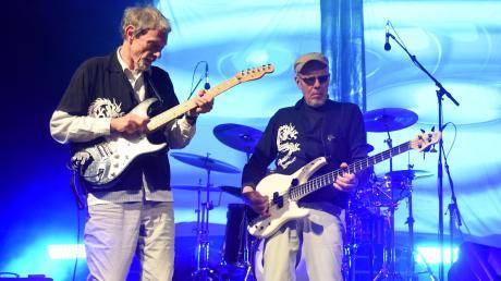 Die Band Kraan trat 2019 noch auf der Wilhelmsburg auf – 2020 veröffentlichen die Ulmer Jazzrocker um Hellmut Hattler (rechts) ein neues Album.