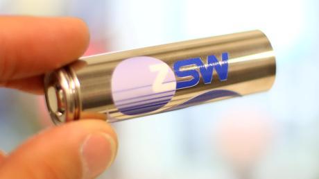 In Ulm am ZSW werden Batterien erforscht.