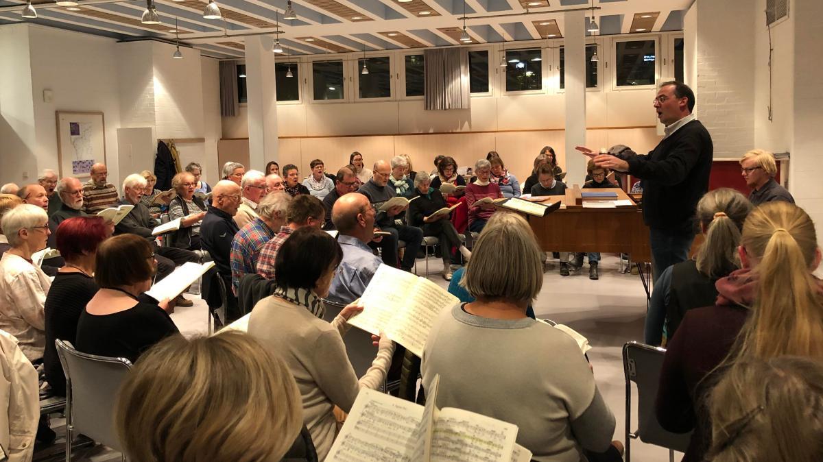 Verdi fordert volle Konzentration von Neu-Ulmer Sängern - Augsburger Allgemeine