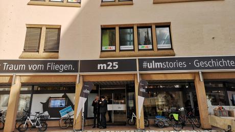 Ulmer Themen statt Musikinstrumente oder Skateboards: Im ehemaligen Fifty-Eight (davor Musikhaus Reisser) am Münsterplatz 25 hat sich die Stadtverwaltung eingemietet.